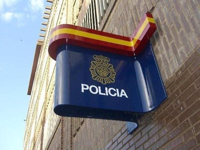 Cartel policía