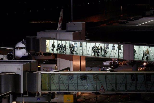 Aeropuerto de Heathrow, en Londres