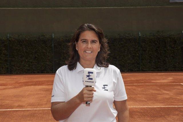 Conchita Martínez Eurosport