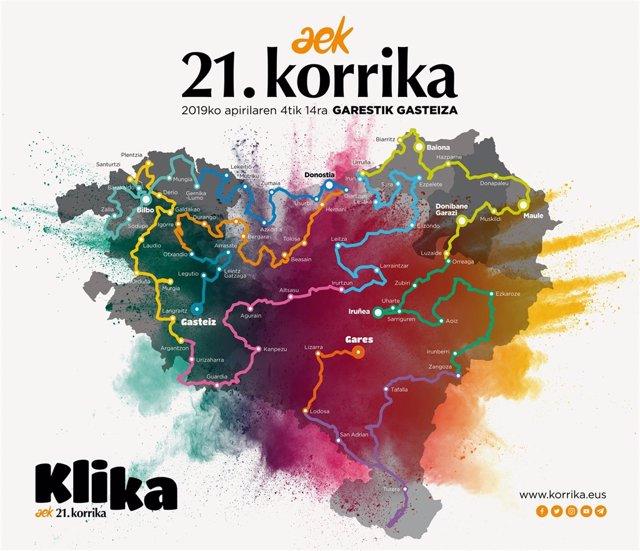 Recorrido Korrika 2019