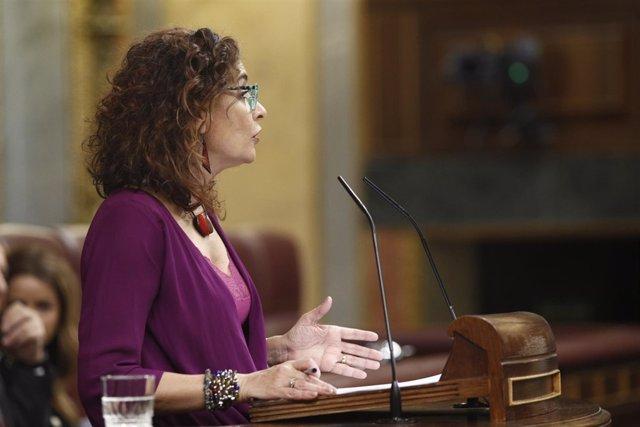 Debate en el Congreso sobre la senda de estabilidad presupuestaria del Gobierno