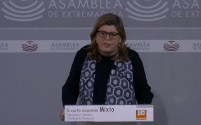 Portavoz parlamentaria Ciudadanos, Victoria Dominguez