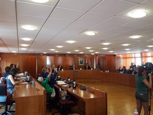 Pleno del Ayuntamiento de Vigo