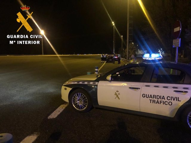 Operativo de la Guardia Civil