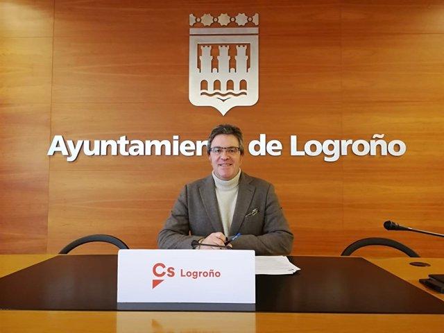 Julián San Martín, portavoz de Ciudadanos Logroño