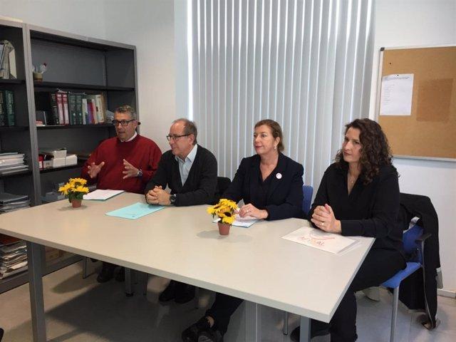 Consellera de Salud, Patricia Gómez, en una rueda de prensa