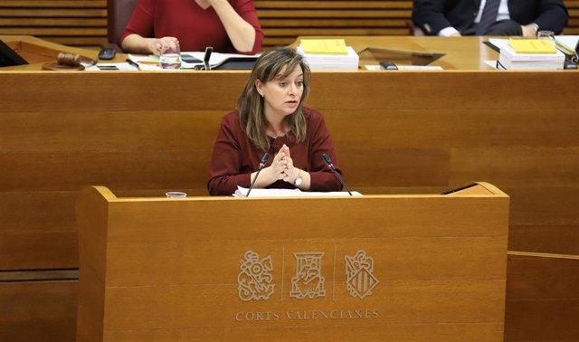 La diputada por Valencia de Ciudadanos, María José García en imagen de archivo