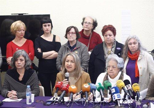 Organizaciones feministas se movilizan ante las propuestas de VOX con el lema 'N