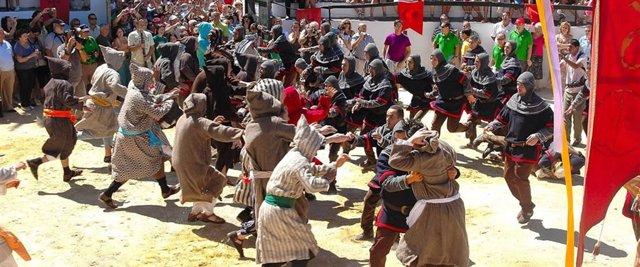 Fiesta de moros y cristianos en Benamahoma