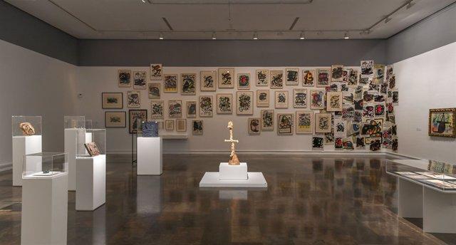 Exposición de Joan Miró en el IVAM