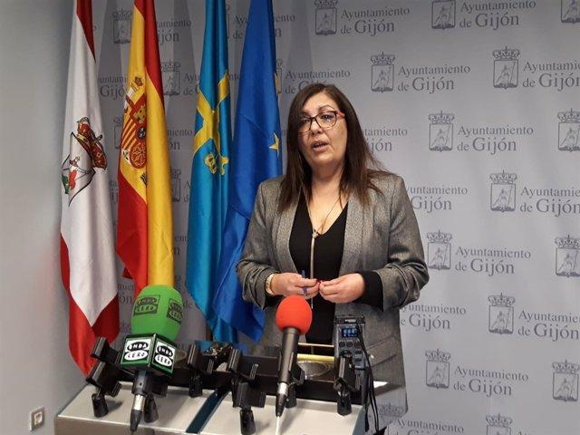 MARINA PINEDA, CONCEJALA PSOE GIJÓN