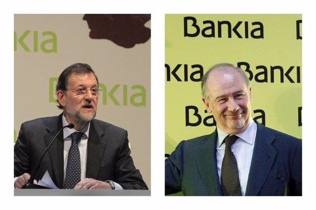 Mariano Rajoy i  Rodrigo Rato