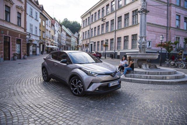 Toyota C-HR, modelo más demandado de la firma