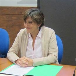 La concejala de Infraestructuras y Servicios Básicos de Oviedo, Ana Rivas (PSOE)