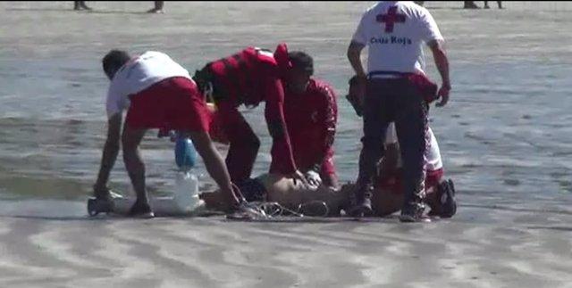 Ahogado en Playa del Inglés