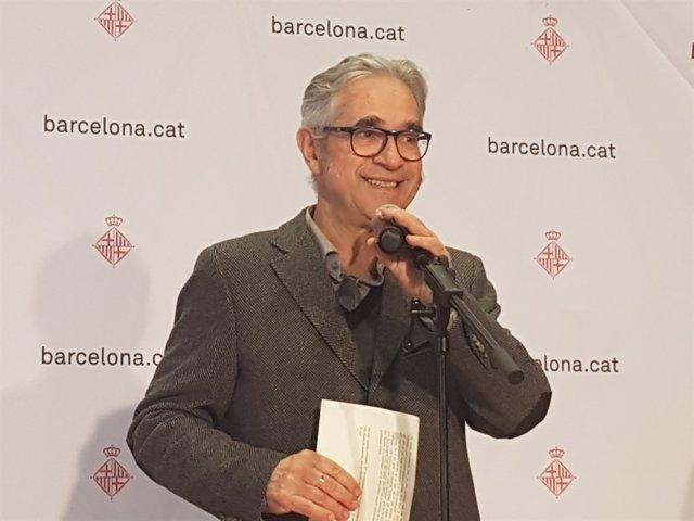 El regidor d'Habitatge de Barcelona, Josep Maria Montaner