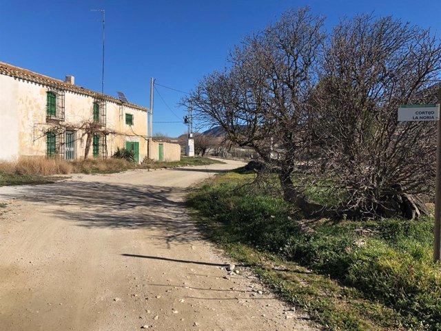 Las obras en Chirivel afectarán al Camino Cerricos, ubicado al sur del pueblo.
