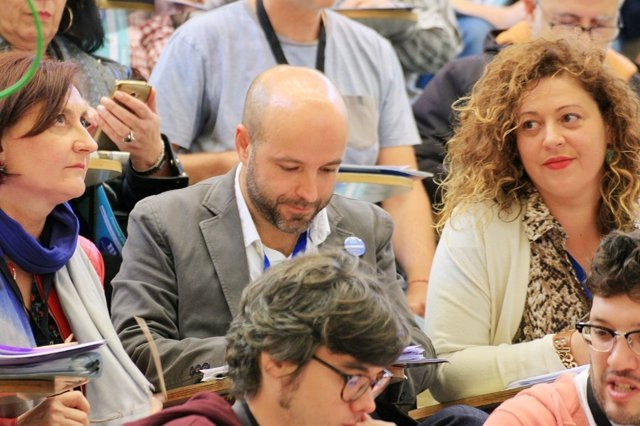 Villares, en el plenario de En Marea
