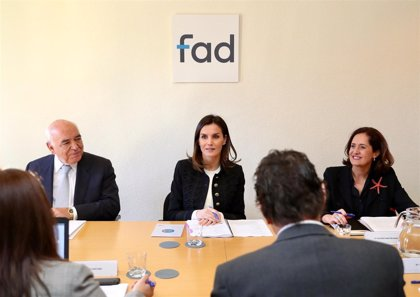 FAD lanza la campaña para jóvenes completamente digital 'The Real Young' y presenta a la Reina sus proyectos para 2019