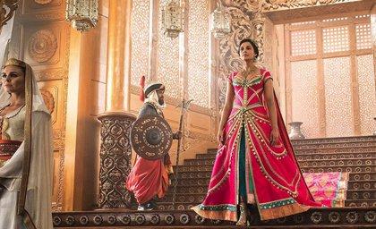 Aladdin: La princesa Jasmine saca su lado más elegante en la nueva imagen del remake