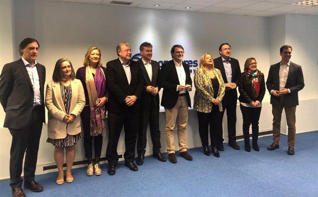 Candidatos Presidencia y Ayuntamientos Castilla y León (9/01/2019)