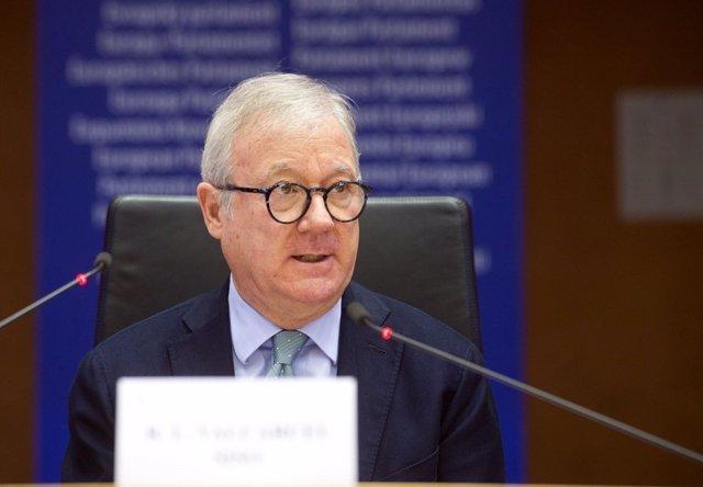 El vicepresidente del Parlamento Europeo Ramón Luis Valcárcel
