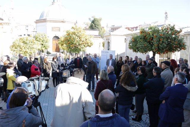 Centenario de la muerte de Rafael Salinas, fundador de PSOE y UGT en Málaga