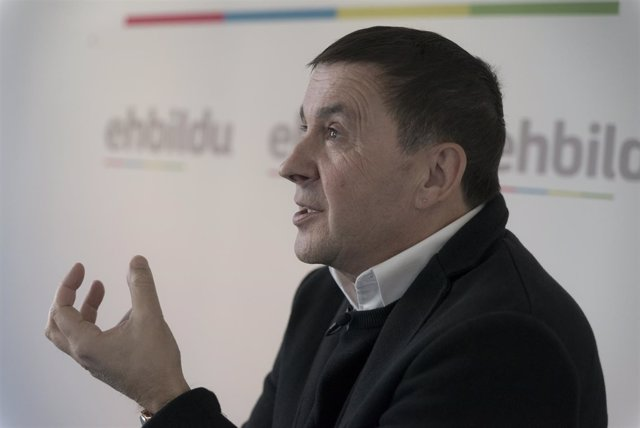 Entrevista de Europa Press al coordinador general de EH Bildu, Arnaldo Otegi