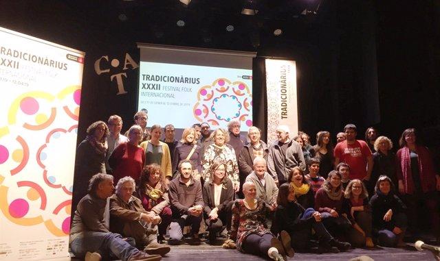 El festival Tradicionrius acollir 60 espectacles fins a l'abril