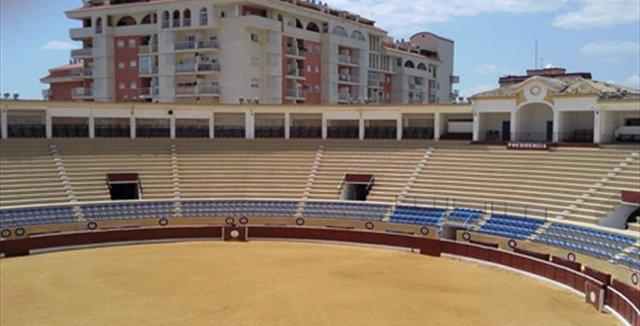 Plaza de toros de Marbella donde se prevé vuelta de los festejos taurinos toros