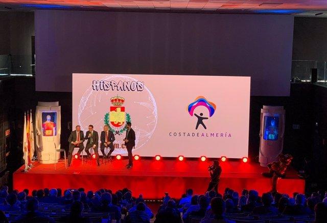 La marca 'Costa de Almería' se estrena como patrocinadora de los 'Hispanos'.