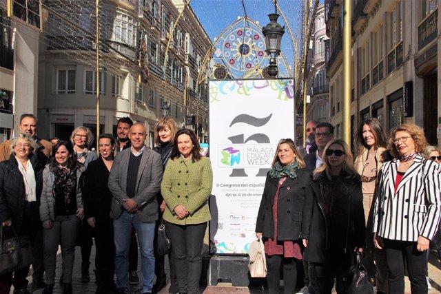 Málaga education week exposición previa turismo idiomático málaga