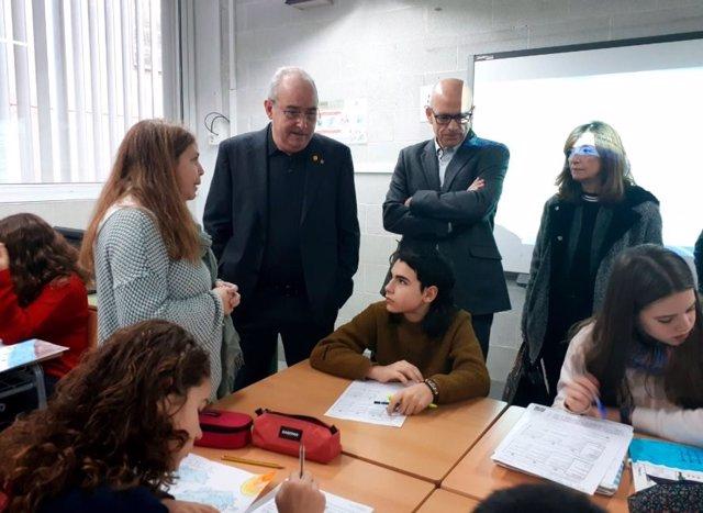El conseller de Educación Josep Bargalló