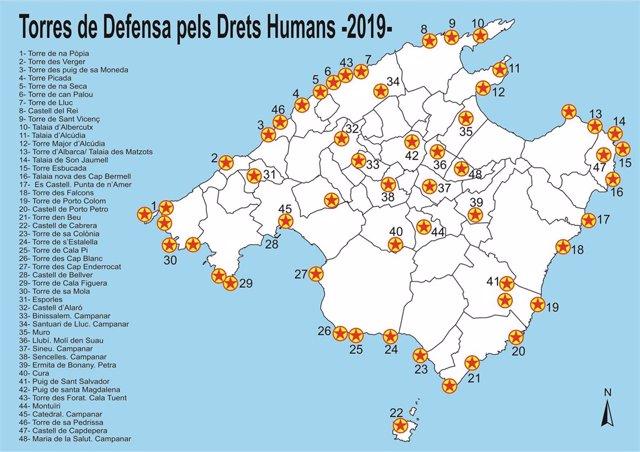 Torres de Defensa por los Derechos Humanos 2019