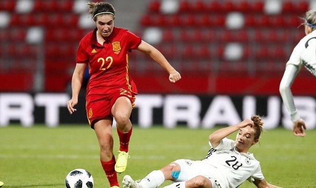 Selección española femenina España Alemania
