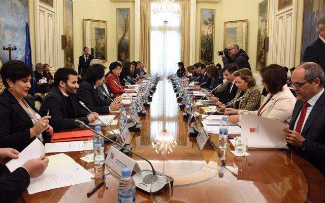 Mesa Sectorial de Educación en Madrid
