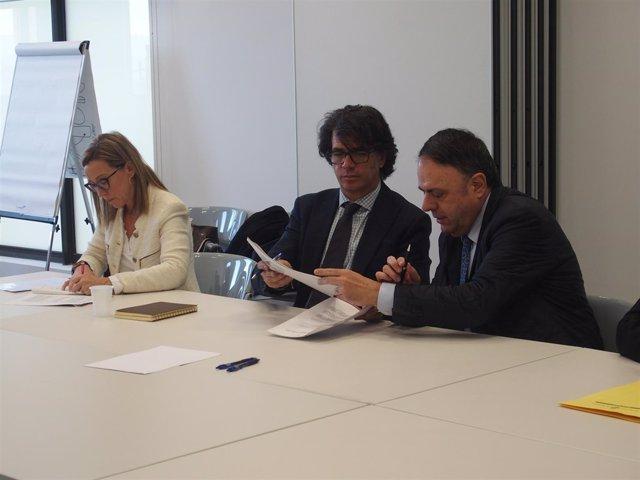 Firma convenio entre Ayuntamiento de Manresa y Endesa