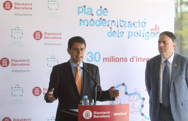 El president de la Diputació de Barcelona, Marc Castells (arxiu)