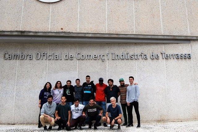 Alumnos del programa que han realizado un curso de drones