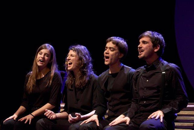 Quartet Melt canta el último siglo de historia catalana en el Molino
