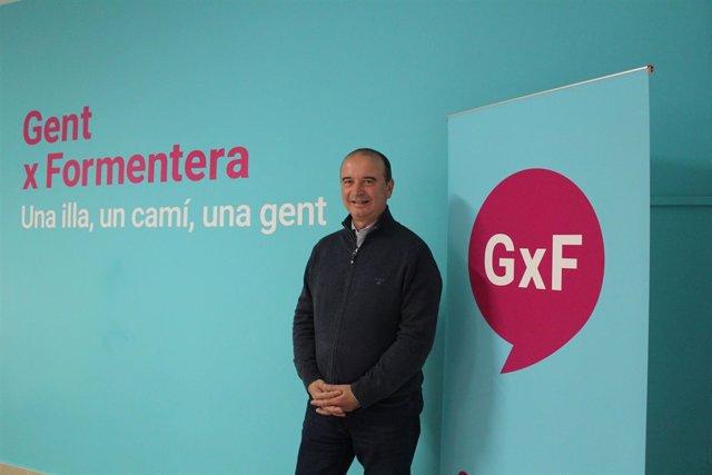 Jaume Ferrer, presidente del Consell de Formentera