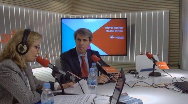 El presidente de Madrid Ángel Garrido en Onda Madrid