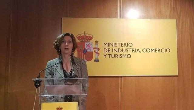 Isabel Oliver, secretaria de Estado de Turismo