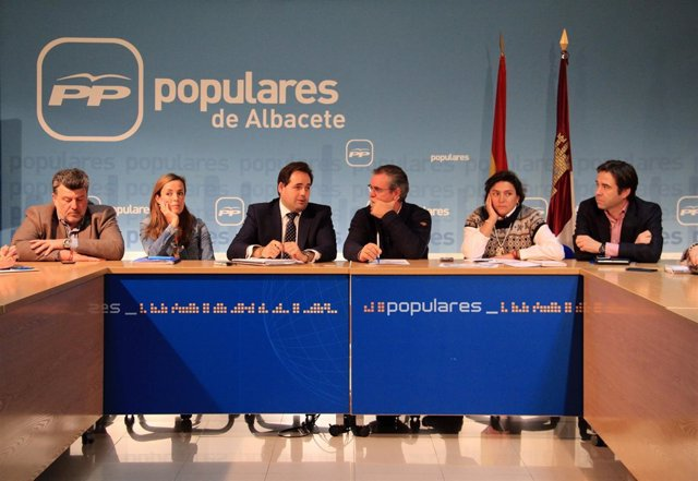 Paco Núñez, en Comité Dirección PP Albacete