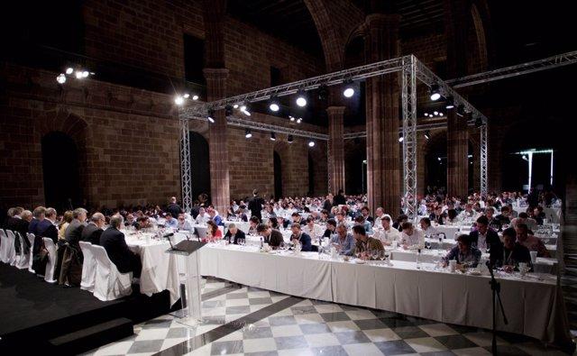 Celebració de l'IX Premi Vila Viniteca de tast per parelles (arxiu)