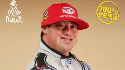 Lucas Barrón, el joven peruano que se ha convertido en el primer piloto que competirá en el Dakar con síndrome de Down