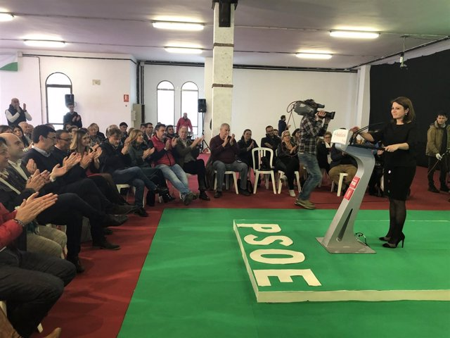 La vicesecretaria general del PSOE, Adriana Lastra, en una imagen de archivo