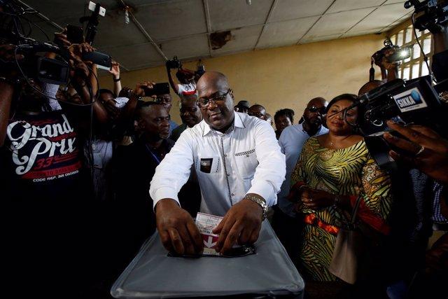 El opositor congoleño Félix Tshisekedi.