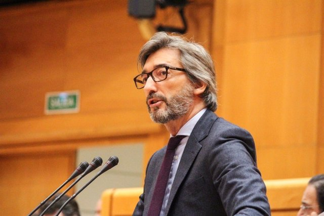 Foto de archivo de Iñaki Oyarzábal en el Pleno del Senado