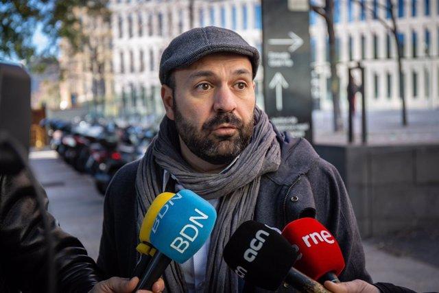 El vicepresidente de Òmnium, Marcel Mauri